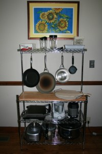 Photo of the Whitmor Supreme Baker's Rack