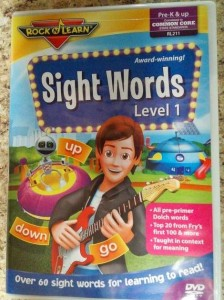 Learn sight words
