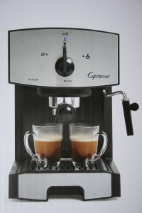 Espresso and Cappuccino Machine Photo