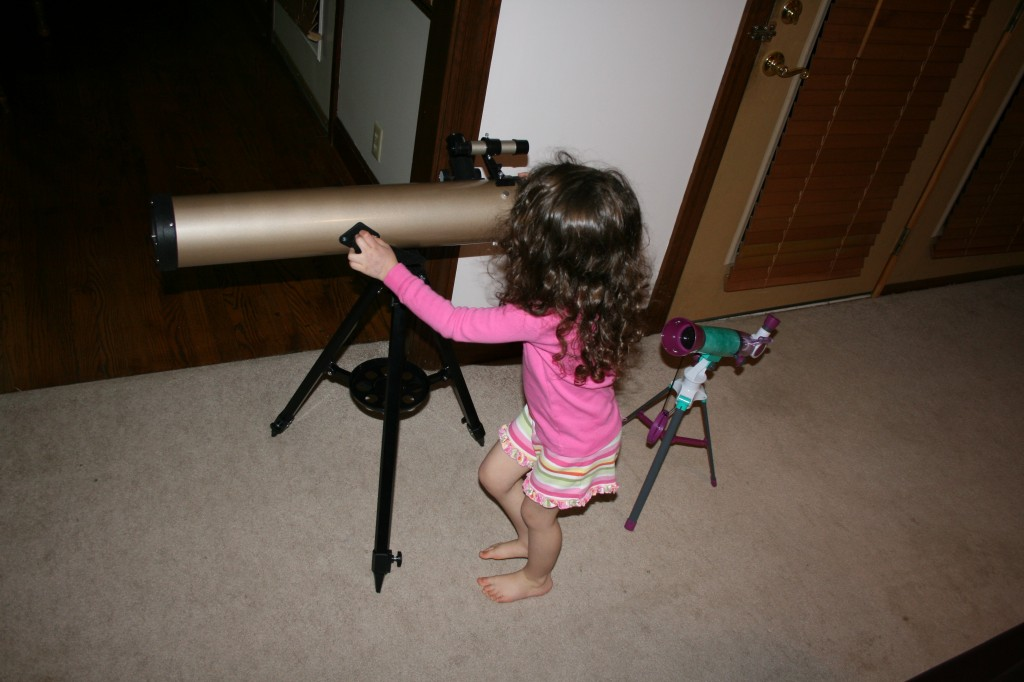 Reflector telescope photo