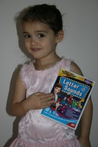 photo of educational DVD 'Letter Sounds'