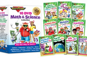 Rock N Learn 10 DVD Math & Science Review