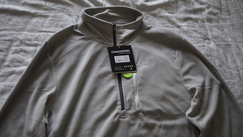 Craghoppers Pro Lite Fleece - Theresa's Reviews - www.theresasreviews.com