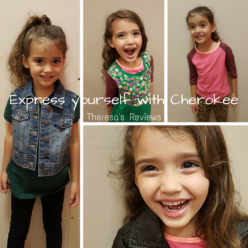 Express Yourself with Cherokee Kids' Clothes - Theresa's Reviews - www.theresasreviews.com #CherokeeUSA