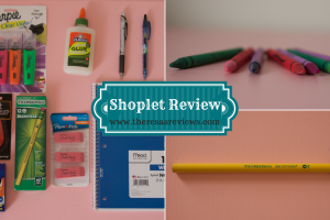Shoplet School Supplies Review - Theresa's Reviews - www.theresasreviews.com #backtoschool #back2school