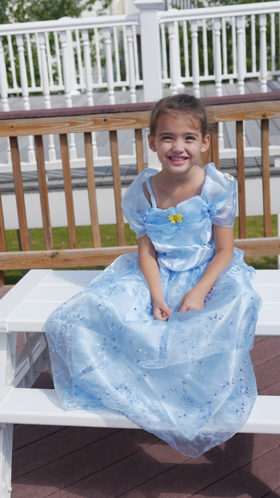 2015 Cinderella Dress Review and Video - Theresa's Reviews - www.theresasreviews.com - #CinderellaPrincessDress