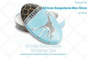 Socially Responsible Shopping Tips and #Giveaway - Theresa's Reviews - www.theresasreviews.com