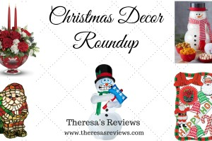 Christmas Decor Roundup - Theresa's Reviews - www.theresasreviews.com