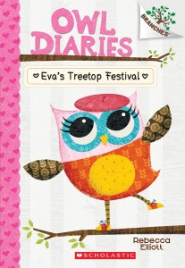 Owl Diaries #1 cover
