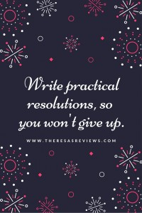 Write practical resolutions