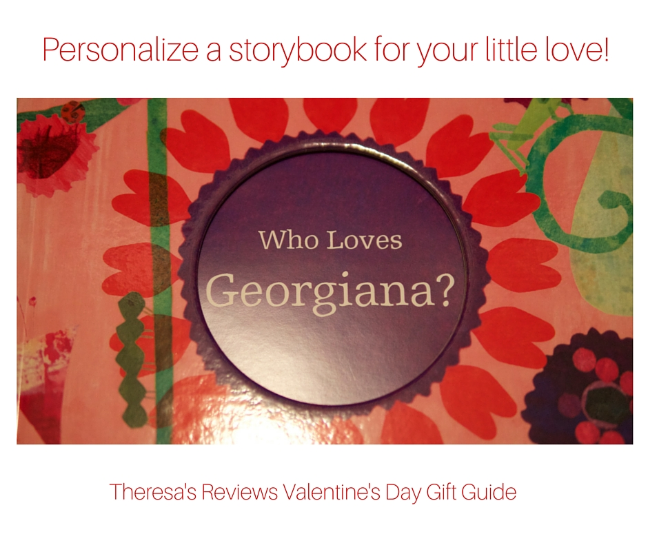 Personalize a storybook for your little love! Theresa's Reviews Valentine's Day Gift Guide - Featuring @iseemebooks - www.theresasreviews.com
