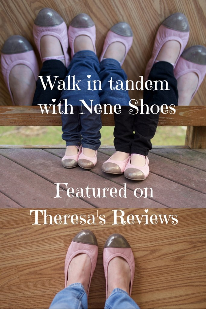 Walk in tandem - Nene Shoes Review - Theresa's Reviews - www.theresasreviews.com