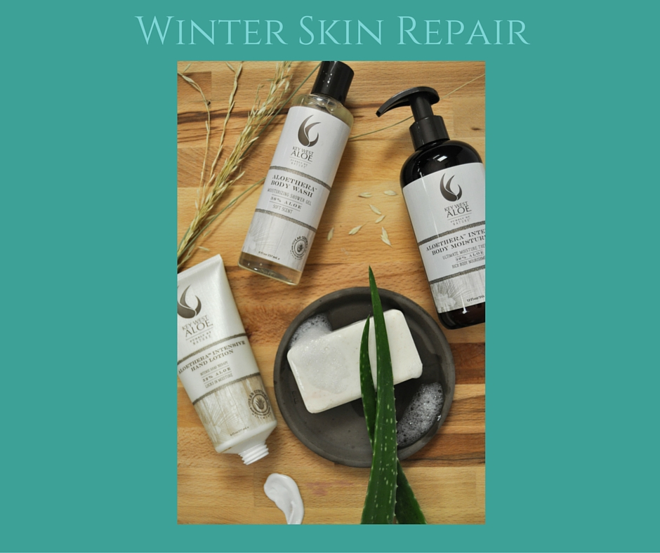 Winter Skin Repair - @keywestaloe - on Theresa's Reviews