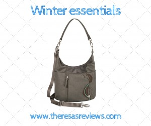 Winter essentials - Winter Beauty and Fashion Essentials - Haiku bags - on Theresa's Reviews