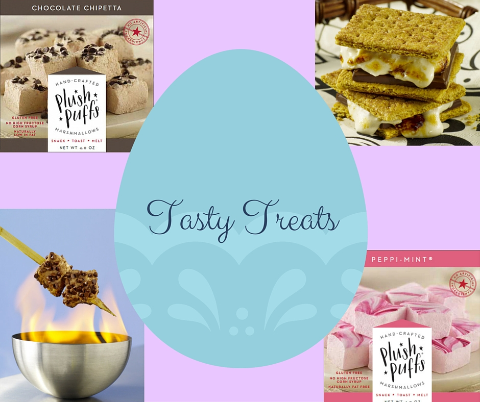 7 Ideas for Delicious Easter Treats - Featuring @plushpuffs - on Theresa's Reviews www.theresasreviews.com