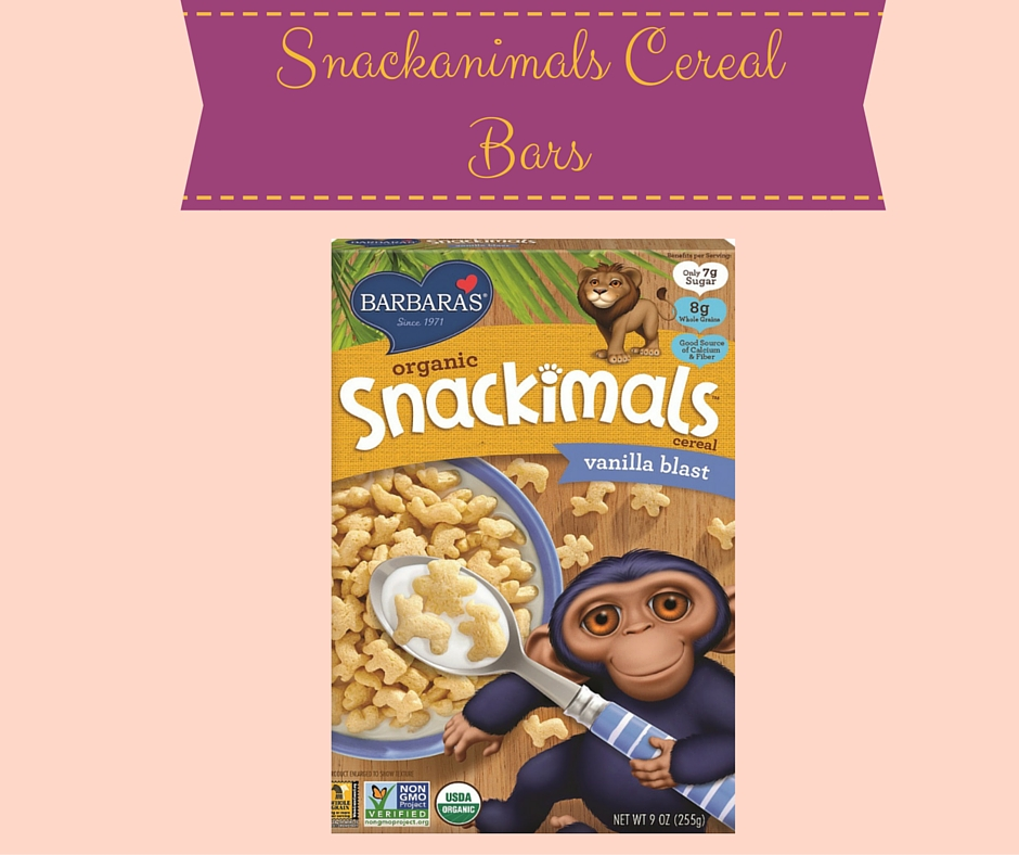 7 Ideas for Delicious Easter Treats - Featuring Barbara's Cereal - on Theresa's Reviews www.theresasreviews.com - Snackanimals Cereal Bars