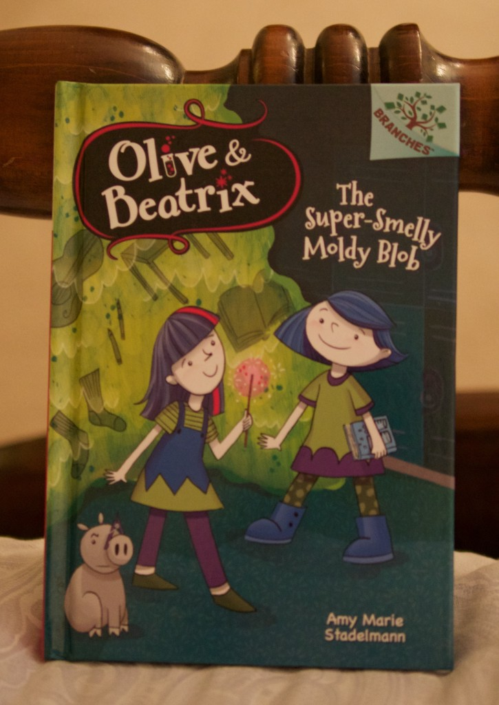 Olive & Beatrix: The Super-Smelly Moldy Blob Book Review - Theresa's Reviews - www.theresasreviews.com