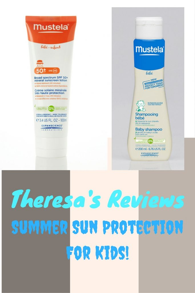 Kids Summer Sun Protection Guide - Featuring @mustelaUSA - Found on www.theresasreviews.com