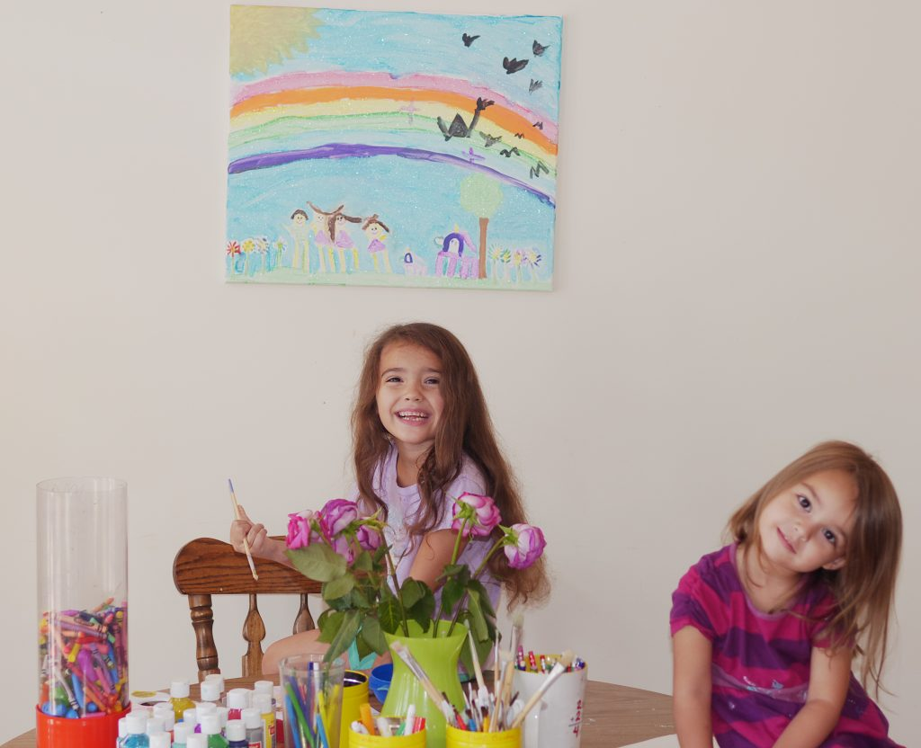 Kids' Art Room Guide: 3 Inspiring Ideas for Making Your Art Space Prettier - Found on www.theresasreviews.com