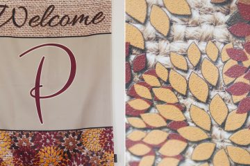 Fall Decor Inspiration: Custom Flags from Flagology (& Giveaway)