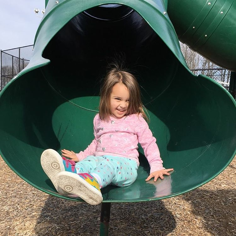 Perfect weather for daddy daughter day at the park! hellip
