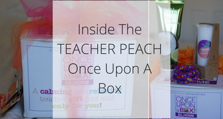Inside The TEACHER PEACH Once Upon A Box - Teacher Gifts - Found on Theresa's Reviews - www.theresasreviews.com