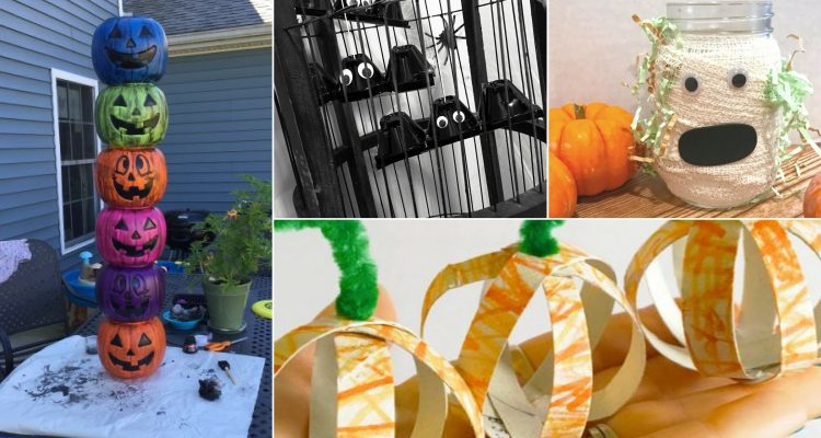 6 DIY Halloween Crafts Your Kids Will Love - Found on www.theresasreviews.com