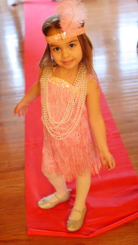 Theresa's Reviews - A festive outfit is perfect for a kid-friendly Oscar party!