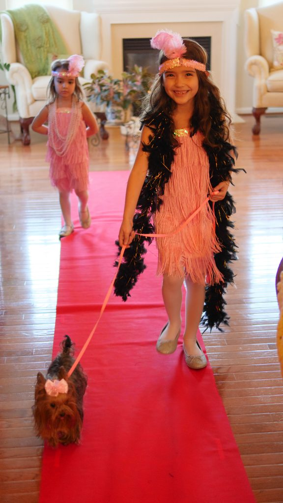 Theresa's Reviews - Kid-Friendly Oscar Party Ideas - With a red carpet to walk down, children will love showing off their glamorous clothes.