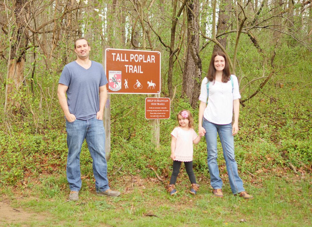 We chose the Tall Poplar Trail, which worked well for my two children. Even though my daughter can tire easily when it's hot or when she's hungry, she was well rested and excited about our adventure!