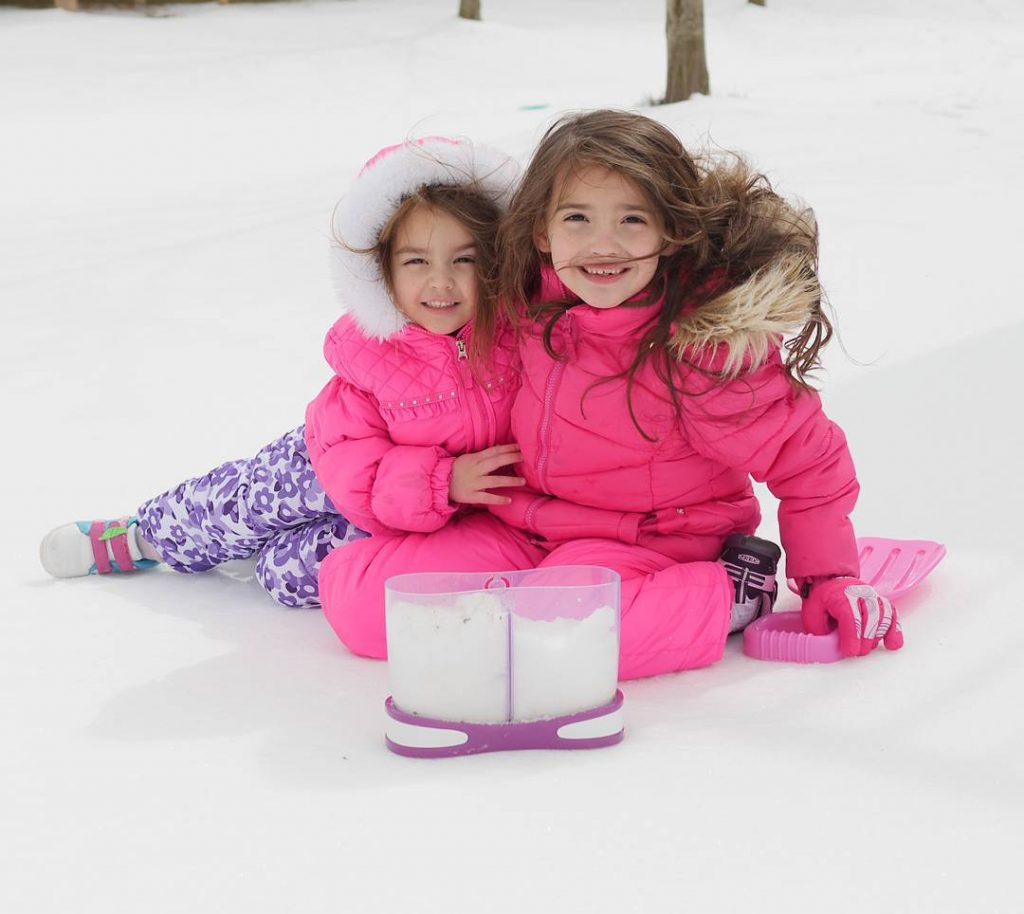 These girls were so excited to shovel snow only tohellip