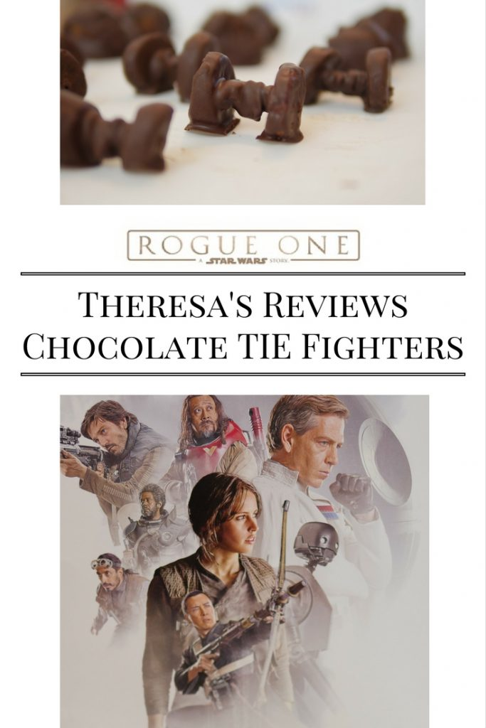 Theresa's Reviews Star Wars Rogue One Chocolate TIE Fighter Recipe & Movie Review