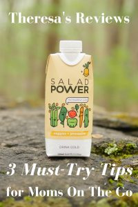3 Must-Try Tips For Moms On the Go - Theresa's Reviews - Salad Power drinks offer the nuturients you need! (ad)