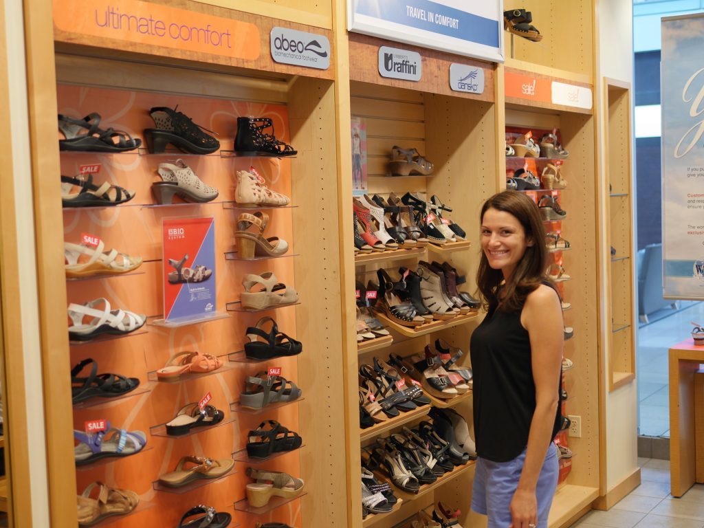 From high heels to tennis shoes, ABEO shoes come in many different styles.