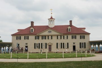 George Washington's Mansion in Mount Vernon