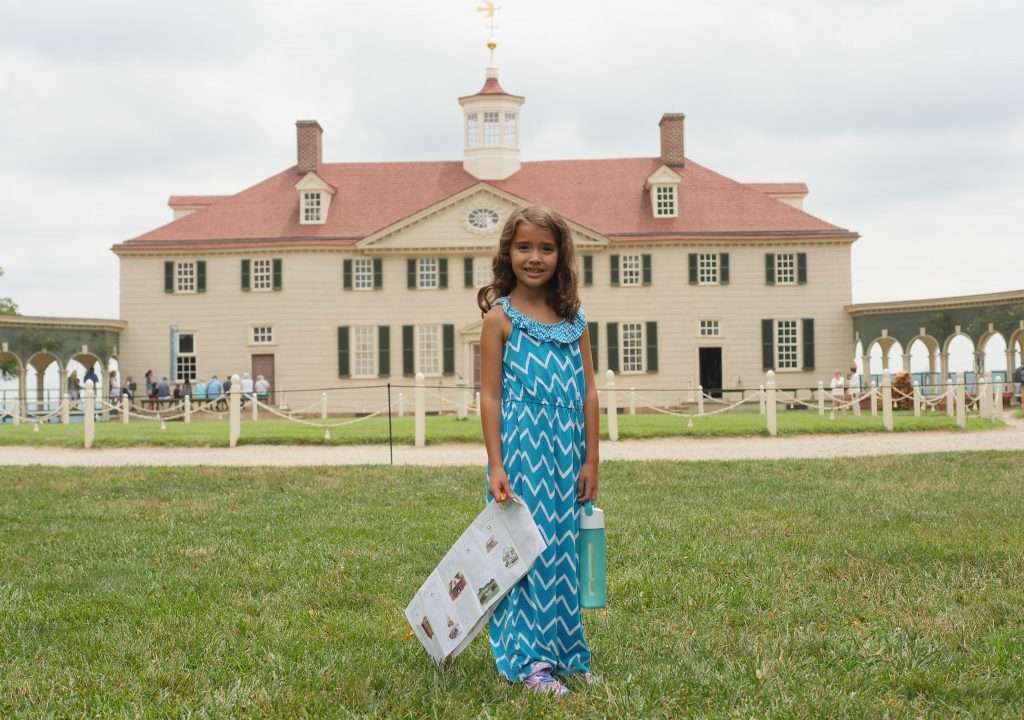 People come form all over the country, and even all over the world, to tour George Washington's home.