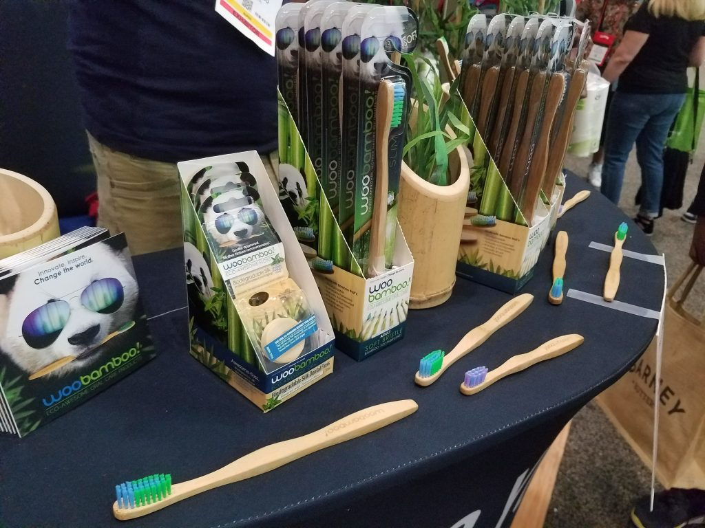 Woo Bamboo at Natural Products Expo East 2017 - Theresa's Reviews #ExpoEast #ExpoEast2017