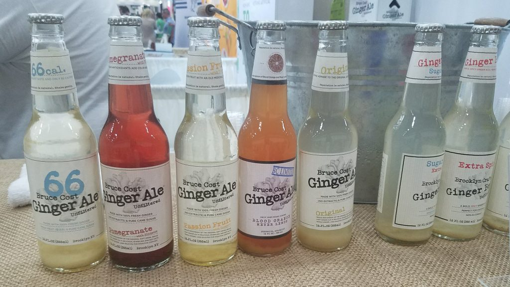 Bruce Cost Ginger Ale at Natural Products Expo East 2017 - Theresa's Reviews #ExpoEast #ExpoEast2017