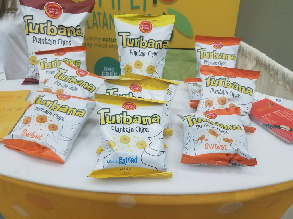 Turbana Plantain Chips at Natural Products Expo East 2017 - Theresa's Reviews #ExpoEast #ExpoEast2017