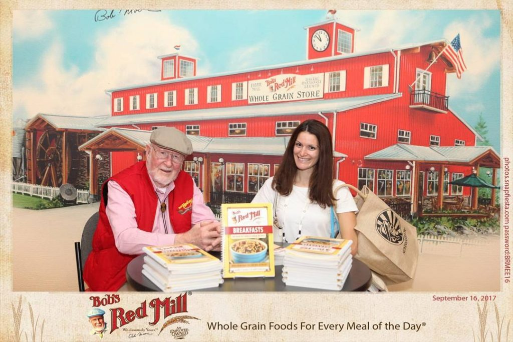 Met Bob from bobsredmill at natprodexpo today! I also discoveredhellip