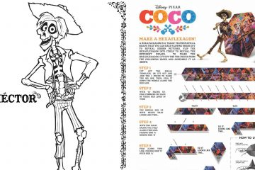 Disney Pixar Coco's Activity Sheets