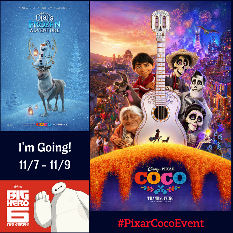 I'm going to #PixarCocoEvent 11/7-11/7! Theresa's Reviews goes to Los Angeles with Disney!