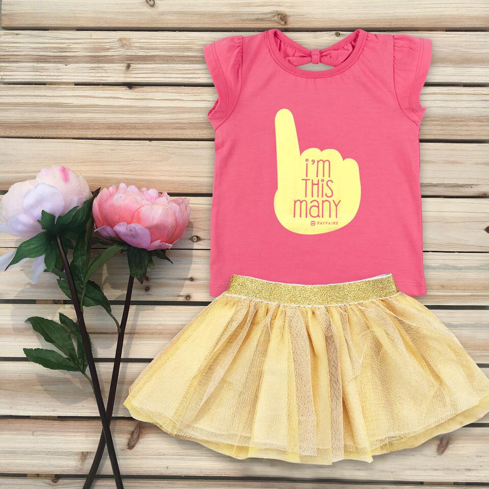 Theresa's Reviews 2017 Christmas Gift Guide For Babies - Fayfaire Clothing I'm This Many Outfit