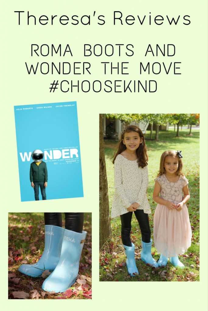 Wonder The Movie Partners With Roma Boots - Theresa's Reviews #ChooseKind #WondertheMovie