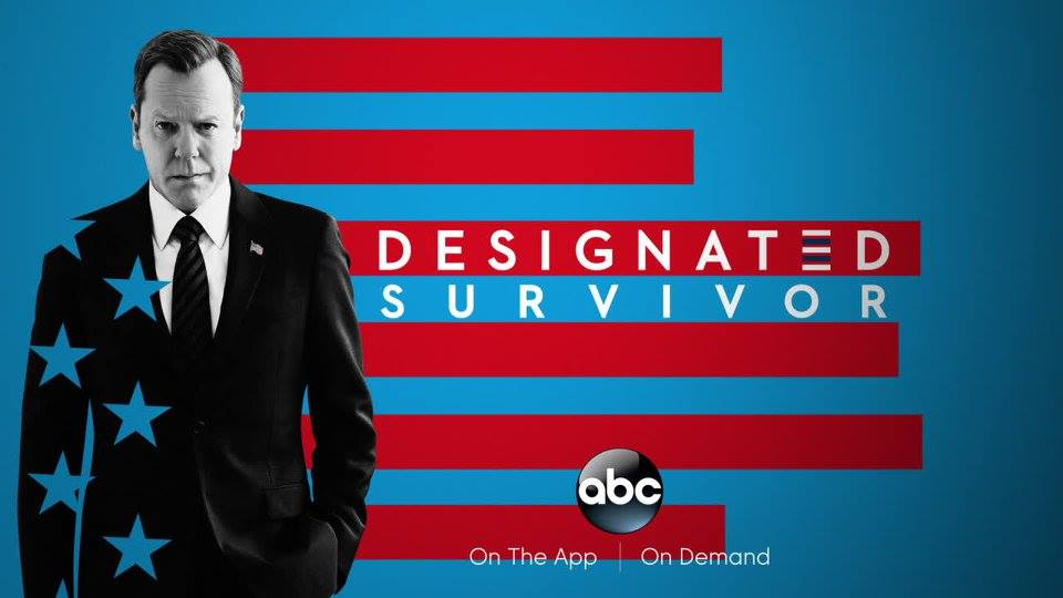 """Designated Survivor"" airs Wednesdays at 10/9 on ABC and can also be watched on the ABC App and On Demand (and on Hulu!)."