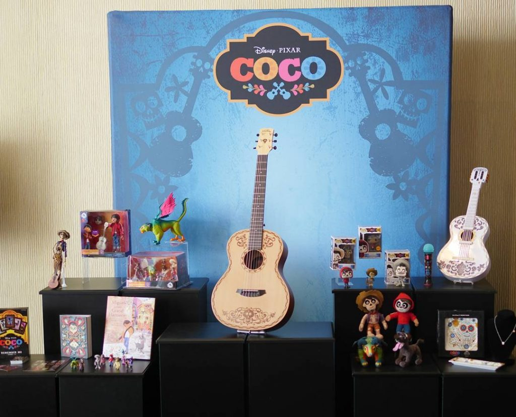 Throwback to the pixarcoco press event at the BeverlyHilton Hotelhellip