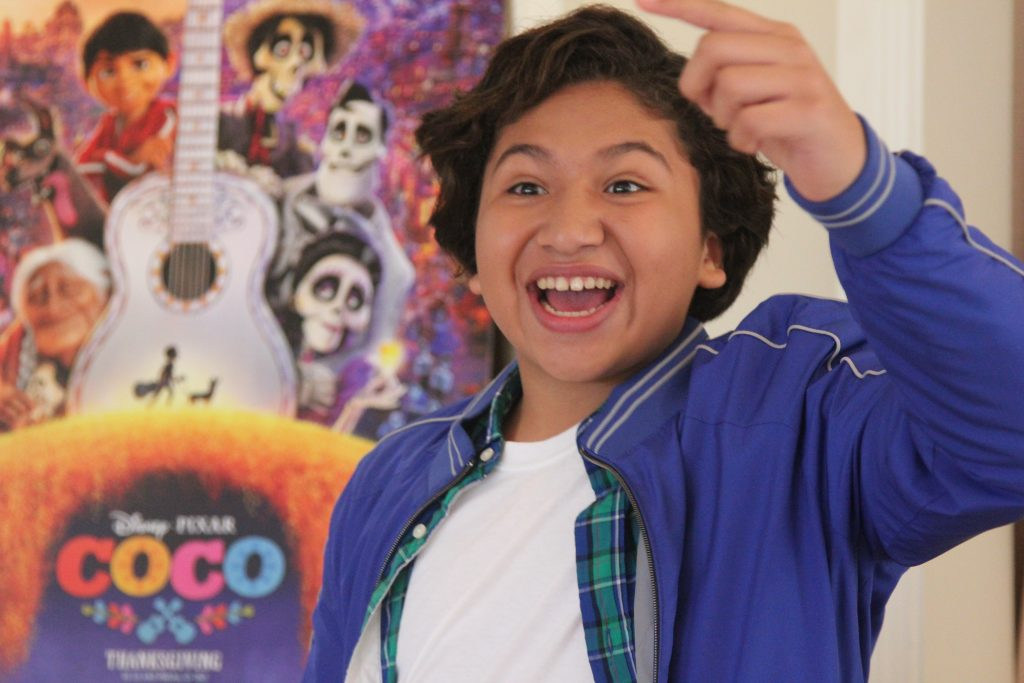 Theresa's Reviews - Anthony Gonzalez is Disney's newest teen star, the voice of Miguel in Coco