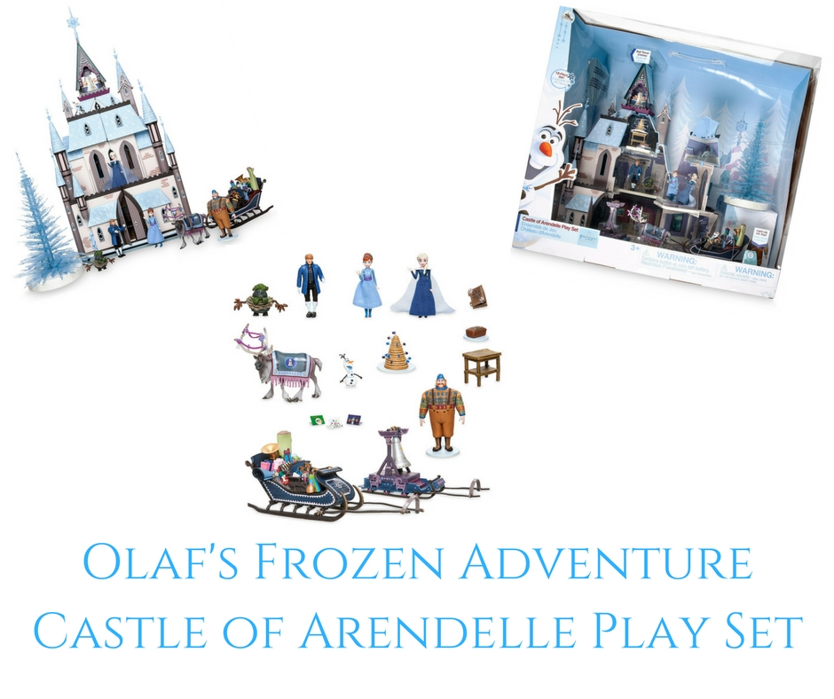Theresa's Reviews - Olaf's Frozen Adventure - Castle of Arendelle Play Set