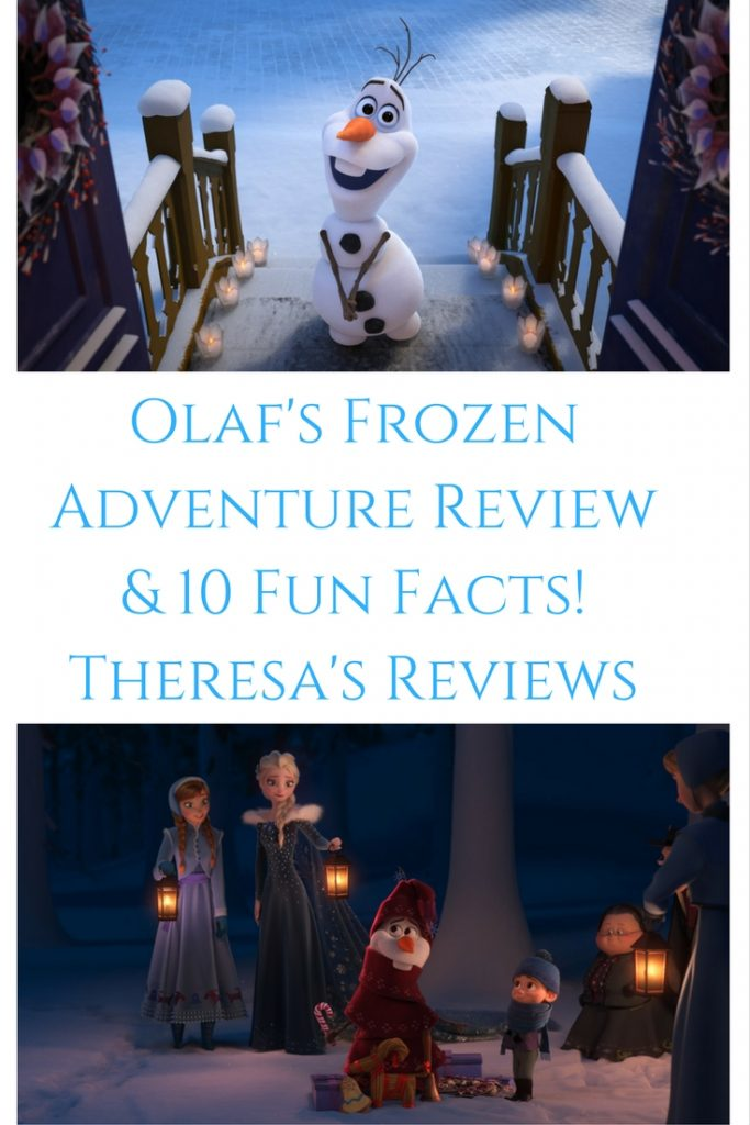 Theresa's Reviews Olaf's Frozen Adventure Review & 10 Fun Facts