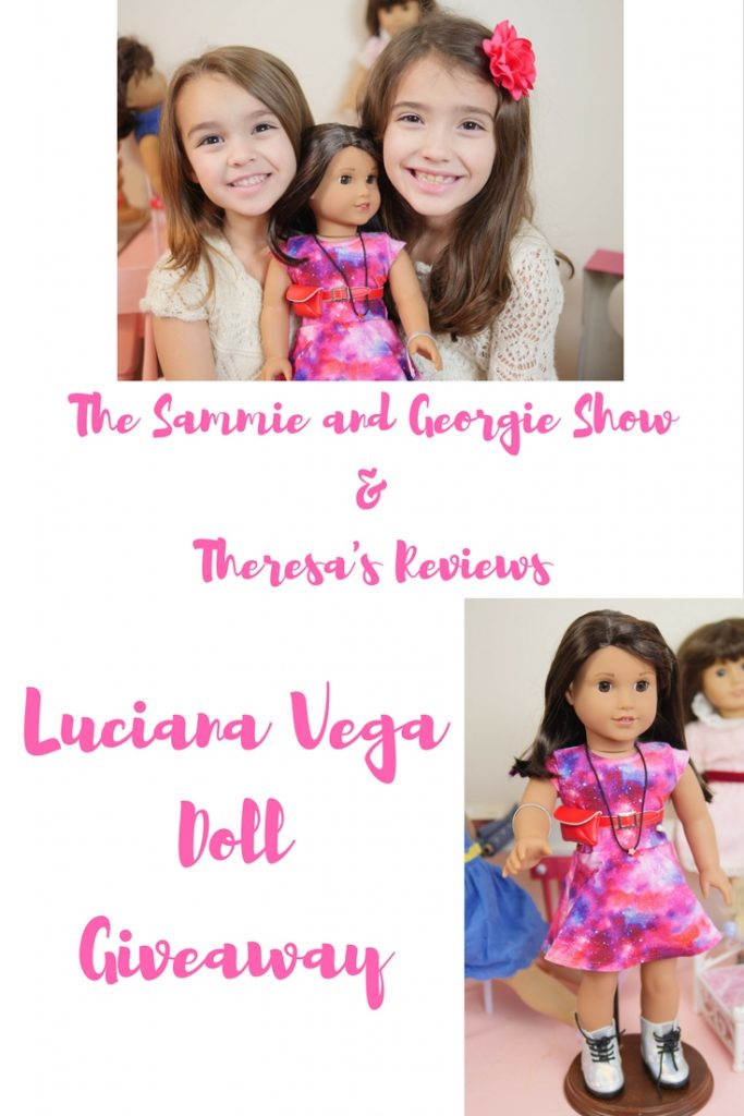 Theresa's Reviews & The Sammie and Georgie Show Luciana Vega Doll Giveaway (1)